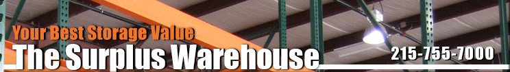 The Surplus Warehouse, Your Best Storage Value